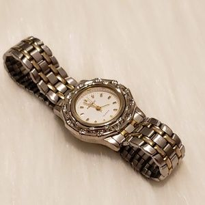Peugeot Women's Silver & Gold Watch